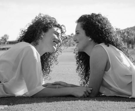 Pilar y Lourdes