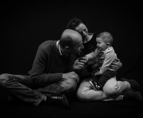 Sesión familiar con Ester, Ahmad y el pequeño Erik