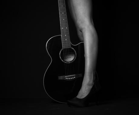 Portrait black&white studio